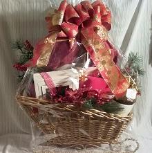 Sleigh Baskets of Treats